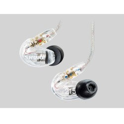 SHURE SE215-CL SOUND ISOLATING EARPHONES image here
