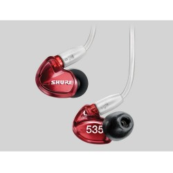 Shure, SE535-LTD SOUND ISOLATING¯ EARPHONES SPECIAL EDITION,red,SE535-LTD image here