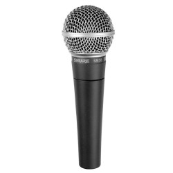 Shure, SM58-LC,black,SHURE SM58-LC THE LEGENDARY VOCAL MICROPHONE image here