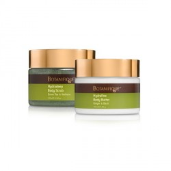 HYDRADEEP BODY SCRUB AND HYDRAFINE BODY BUTTER image here