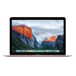 12-inch Macbook: 1.2GHz dual-core Intel Core m3, 256GB - Rose Gold image here