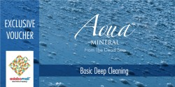 Aqua Mineral,BASIC DEEP CLEANING,voucher 01 image here