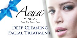 Aqua Mineral,DEEP CLEANING FACIAL TREATMENT,gift set 01 image here