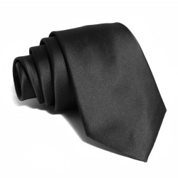 Armando Caruso, BLACK NECKTIE 10, Black, BLACKNT-10 image here