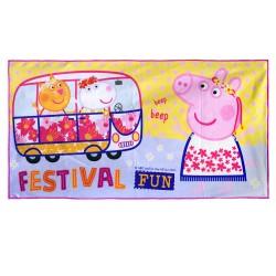 "Peppa Pig Microfiber Bath Towel 24""x48"",PPMBTNT17-03CG image here"