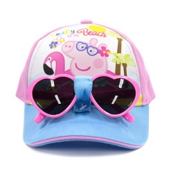 Peppa Pig Cap with Sunglasses,PPYX17-01GS image here