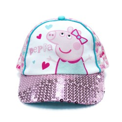 Peppa Pig Baseball Cap with Sequins,PPYX17-08GSY image here