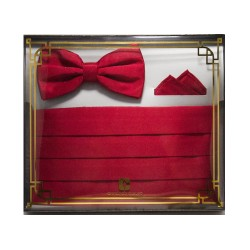 Armando Caruso, BOW TIE SET , Red, BTS-4 image here