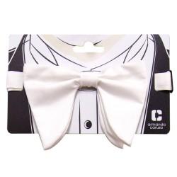 Armando Caruso, BUTTERFLY BOW TIE, White, BBT-7 image here