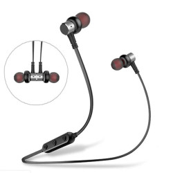 Awei, B923BL Bluetooth 4.2 Wierless In-ear Sport Earphone with Mic,black,awei-b923bl-blk image here