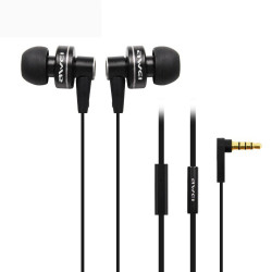 Awei,ES900i In-Ear Earphones Clear Bass with Microphone,black,es900i-blk image here