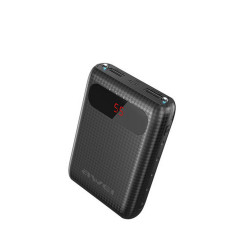 Awei,P27K 8,400mAh Portable Mini Power Bank With LCD Display,black,p27k-blk image here
