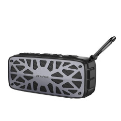 Awei,Y330 Portable Wireless Bluetooth Portable Speaker USB/SD/FM, silver, y330-slvr image here