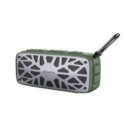 Awei,Y330 Portable Wireless Bluetooth Portable Speaker USB/SD/FM,-green image here
