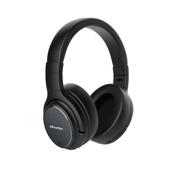 Awei, A950BL Active Noise-Cancelling ANC Head-Mounted Bluetooth Headset Wireless Folding Mobile Headset, black, a950bl-blk image here
