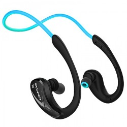 AWEI A880BL WIRELESS SPORTS STEREO EARPHONES BLUETOOTH V4.0 SUPPORT APT-X HIFI SOUND QUALITY SWEAT AND SPLASH PROOF(BLUE) image here