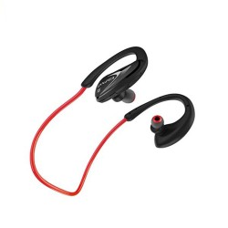 AWEI A880BL WIRELESS SPORTS STEREO EARPHONES BLUETOOTH V4.0 SUPPORT APT-X HIFI SOUND QUALITY SWEAT AND SPLASH PROOF(RED) image here