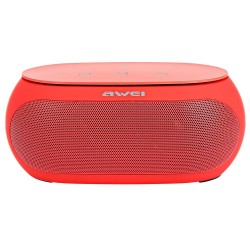 AWEI Y200 BLUETOOTH SPEAKER WIRELESS PORTABLE SPEAKERS SUPPORT TF AUX INPUT (RED) image here