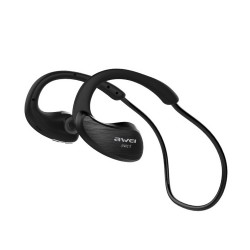 AWEI A885BL NFC HIFI WATERPROOF WIRELESS BLUETOOTH HEADSET (BLACK) image here