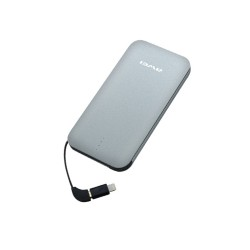 Awei P20K 8000mAh Quick Charge 3.0 Smart PowerBank - silver image here