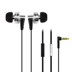 AWEI ES-900i Hi-Definition In-Ear Earphones with Mic - silver image here