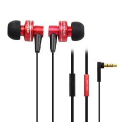 AWEI ES-900i Hi-Definition In-Ear Earphones with Mic - red image here