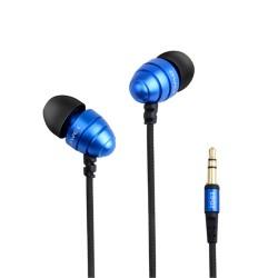 AWEI ES-Q2 3.5MM Plug Stereo Music Deep Bass In-ear Earphones - blue image here