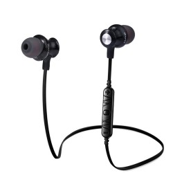Awei A980bl Bluetooth Earphones Headset Wireless Headphones With Microphone - black image here