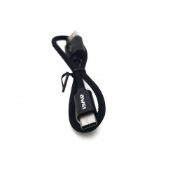 Awei CL-85 Type-C USB Cable Mini Nylon Braided Fast-Charging Data Cable - black image here
