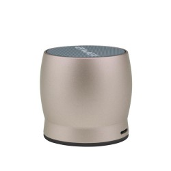 Awei Y500 Mini Bluetooth Speaker TF Card Audio 3D Stereo - gold image here