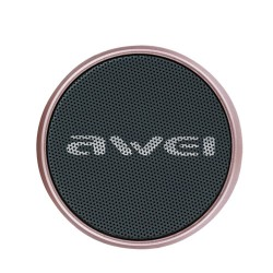 Awei Y500 Mini Bluetooth Speaker TF Card Audio 3D Stereo - rose gold image here