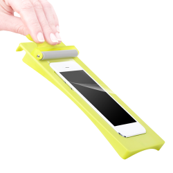 PUREGEAR PURETEK ROLL ON FLEXIBLE GLASS FOR IPHONE 6/6S PLUS image here