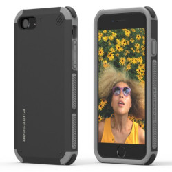 PUREGEAR DUALTEK CASE FOR IPHONE 7 MATTE BLACK,IPG7-DTBLK image here