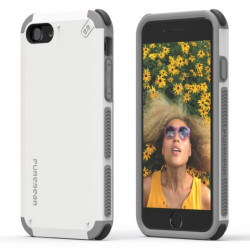 PUREGEAR DUALTEK CASE FOR IPHONE 7 ARCTIC WHITE,IPG7-DTW image here