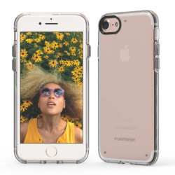 PUREGEAR SLIMSHELL CASE FOR IPHONE 7 - CLEAR,IPG7-SCC image here