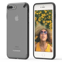 PUREGEAR SLIMSHELL CASE FOR IPHONE 7 PLUS – CLEAR / BLACK image here