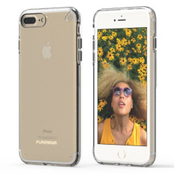 PUREGEAR SLIMSHELL CASE FOR IPHONE 7 PLUS CLEAR,IPG7P-SCC image here