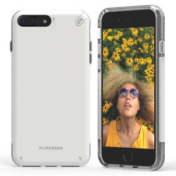 PUREGEAR DUALTEK PRO FOR IPHONE 7 PLUS  WHITE,IPG7P-DTPW image here