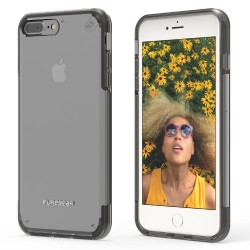 PUREGEAR SLIMSHELL PRO CASE FOR IPHONE 7 PLUS – CLEAR / BLACK image here