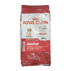 ROYAL CANIN MEDIUM JUNIOR 15KG image here