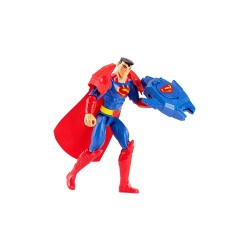 """Justice League 12"""" Action Armor Blast Superman Figure with Accessory image here"""