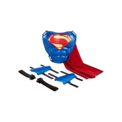 Justice League Cape and Cowl Superman Hero-Ready Set image here