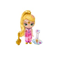 "Shimmer and Shine 6"" Basic Doll - Genie Disguise Leah image here"