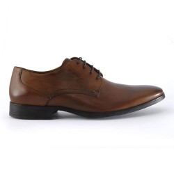 ELBRUS LACE UP \ TAN LEATHER image here