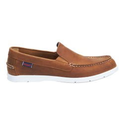 LITESIDES SLIP ON M \ BROWN OILED WAXY LEATHER image here