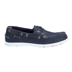 LITESIDES TWO EYE M \ NAVY LEATHER image here