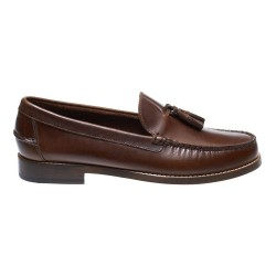 LEGACY TASSEL \ DK BROWN LEATHER image here