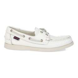 DOCKSIDES M \ WHITE LEATHER image here