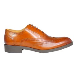 RUSSEL BROGUE OX \ BLACK LEATHER image here