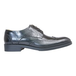 RUSSEL DERBY \ BLACK LEATHER image here